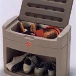 Caja para Zapatos y Cepillos