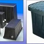 Caja Cubierta del Medidor de Agua
