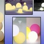 Lámparas Globos de Luz