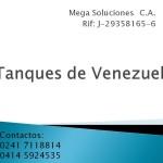 Tanques de Venezuela por Mega Soluciones C.A.